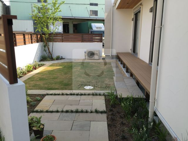 大川市 ガーデン工事