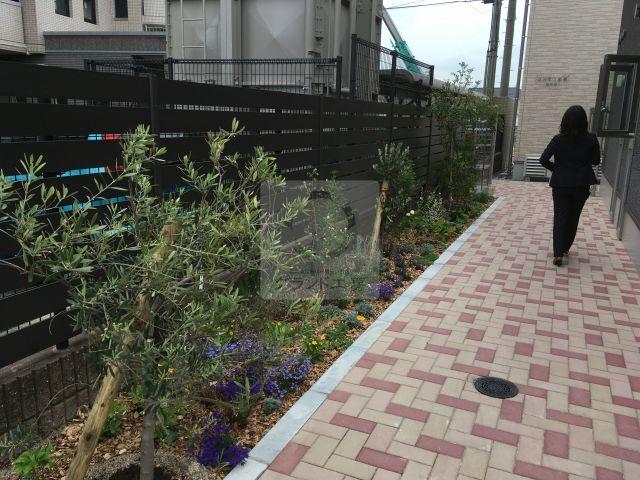 大野城市 花壇工事