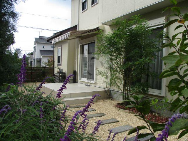 久山町 ガーデン工事