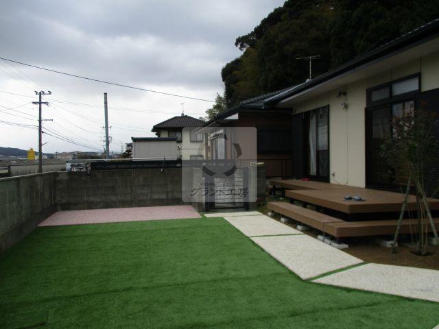須惠町 外構改修・ガーデン工事