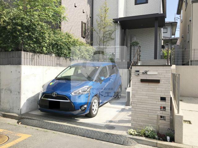 横浜市都筑区 外構改修工事
