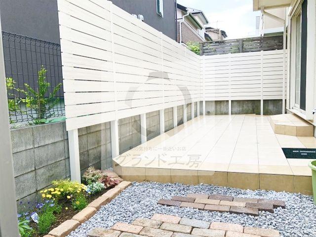 横浜市青葉区 ガーデン工事