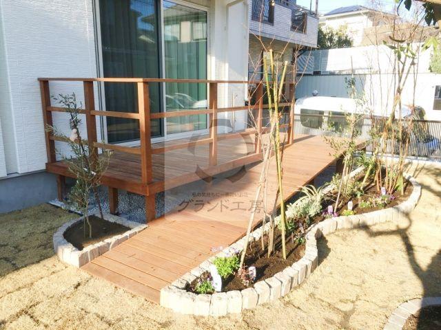 麻生区 ガーデン工事