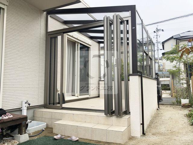 福岡市 ガーデンルーム工事