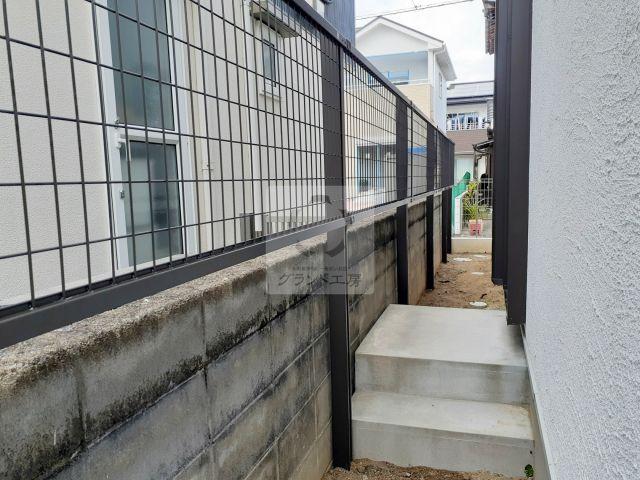 糸島市 フェンス工事