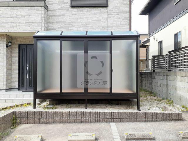 糸島市 ガーデンルーム工事