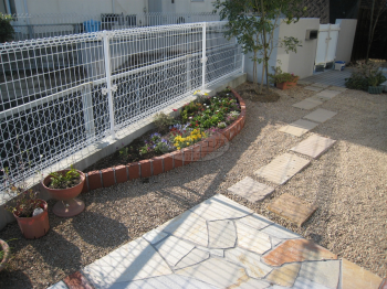 志免町 ガーデン工事