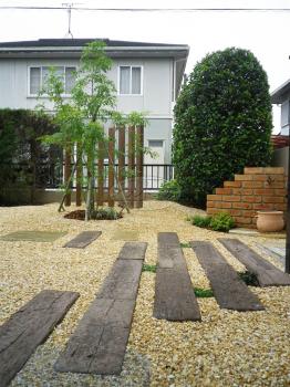 筑前町 ガーデン工事