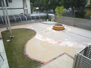 宗像市 ガーデン工事