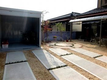 大牟田市 ガーデン工事
