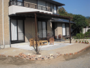 朝倉市 ガーデン工事