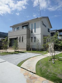 京都郡 新築外構工事