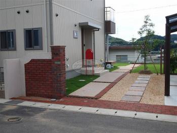 下関市 新築外構工事