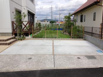 久留米市 新築外構・ガーデン工事