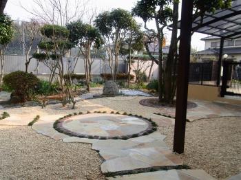直方市 ガーデン工事