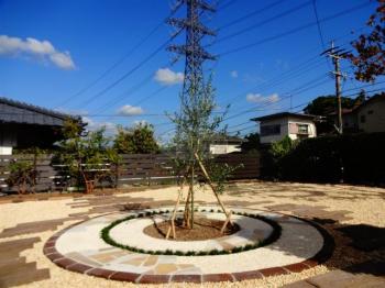 成長を楽しむ庭