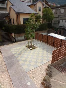 環境にもやさしい庭