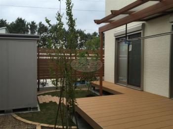 糸島市 ガーデン工事