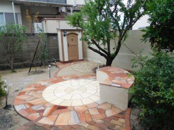 中間市 ガーデン工事