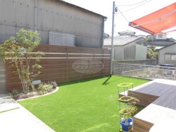 須惠町 ガーデン工事