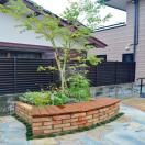 福岡市 花壇改修工事