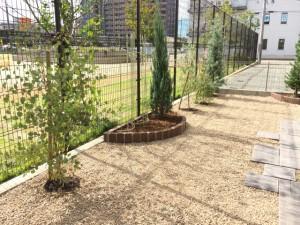 福岡市東区香椎 ガーデン完成