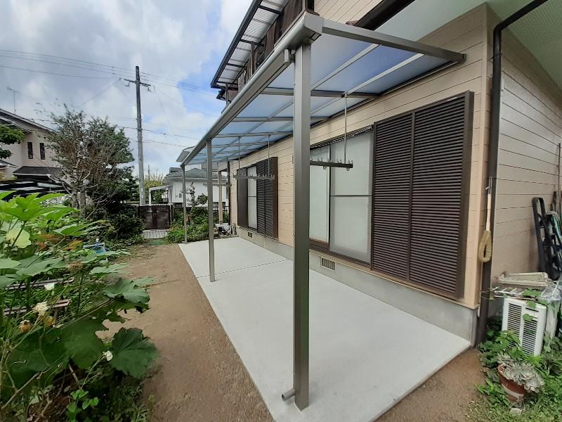 テラス屋根 コンクリート 熱線吸収 熱線遮断 スピーネ LIXIL