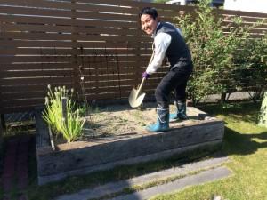 プチ菜園づくり!