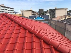 屋根塗装 仕上がり