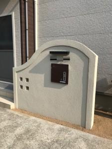門塀 宅配ボックス