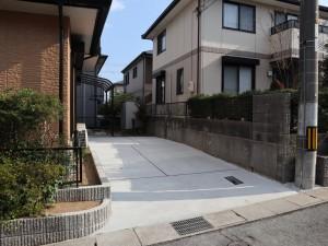 車庫増設 コンクリート