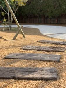 ガーデン ナチュラル コンクリート製枕木
